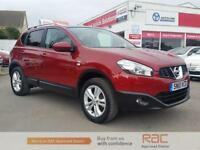 NISSAN QASHQAI N-TEC DCI , Red, Manual, Diesel, 2010