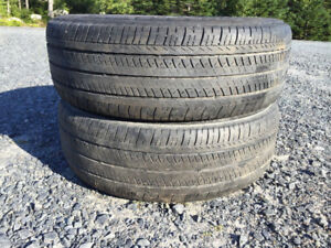 Two P195/65R15 Summer Tires Great Tread