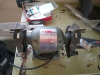 "King KC-680 6"" Bench Grinder"