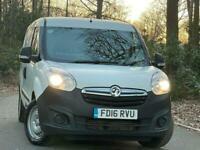 2016 Vauxhall Combo 1.3 CDTi 2300 16v Panel Van L2 H1 3dr Panel Van Diesel Manua