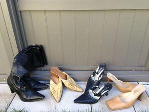 Femme gr: 6 - Lot de chaussures, sandales, bottes