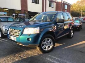 2007 57-Reg Land Rover Freelander 2 2.2Td4 GS,RARE PEARL PETROL BLUE!!!!