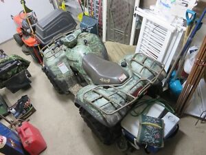 Camo Package 2004 ATV used very little