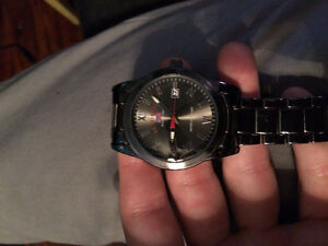 U.S. POLO ASSN 9/10 condition stainless steel watch with case