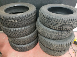 2 sets of 195/65/15 winter tires