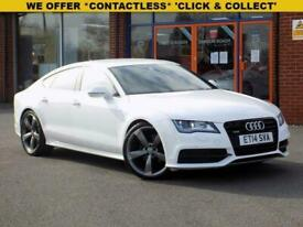 image for 2014 14 AUDI A7 3.0 TDI QUATTRO BLACK EDITION 5DR S-TRONIC DIESEL