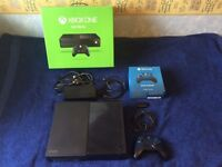 Xbox One 500GB with all cables