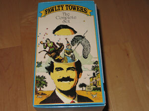 Faulty Towers the Complete set 4 VHS Kitchener / Waterloo Kitchener Area image 1
