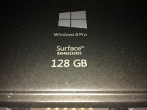 Microsoft surface Pro tablet 128 GB