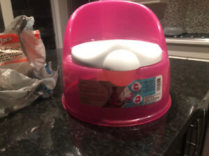 Potty kids training pink and green one