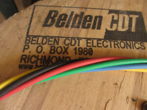 Belden Brilliance 1505S5 coaxial cable