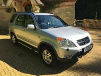 2002/02 Honda CR-V 2.0 i-VTEC Auto SE Sport