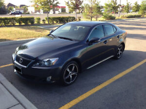 2010 Lexus IS 250 6 Speed Manual Excellent Condition