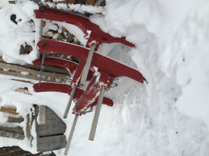 Wooden Bob Sleds for sale