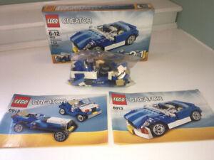 LEGO CREATOR 3 en 1: Voiture bleue 6913