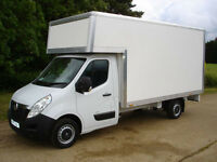 man and van from £15/hr, removal/ luton van with tail lift / van hire/