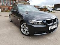 BMW 320d M Sport 2.0 DIESEL,HPI CLEAR,XENON DRL,CREAM LEATHER,CRUISE,P/SENSOR,YEAR M.OT,FULL HISTORY