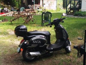 Gas powered Saga Quest 150cc