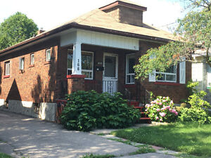 2 Bedroom Bungalow with partially finished basement