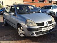 Renault Clio 1.2 2004 + 12 MONTHS MOT + LOW MILES!