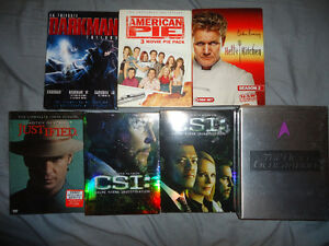 TV SHOWS AND DVD TRILOGYS