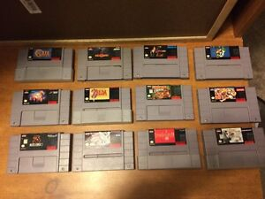 SNES Game Sale: Chrono Trigger/ FF2/ Donkey Kong Country/ Ect.