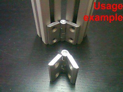 Aluminum T-slot Profile Hinge 40x40 4-set