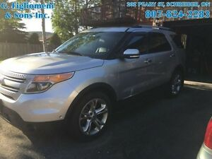 2012 Ford Explorer Limited  - one owner -  local - $212.65