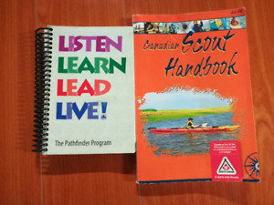 Scouts and Girl Guide handbooks