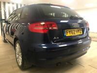 ***RESERVED***Audi A3 1.6TDI Sportback Blue Diesel WARRANTY 12 MONTHS MOT