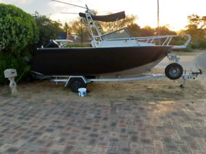 21ft ally fishing boat