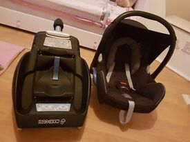Maxi cosy car seat and ISO fix