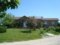 Hobby Ranch / Farm with Raised Bungalow on 42 acres