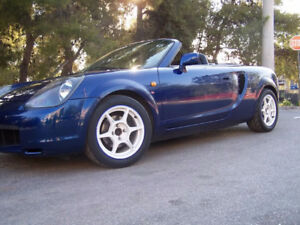TOYOTA MR2 MRS SPYDER JDM RHD