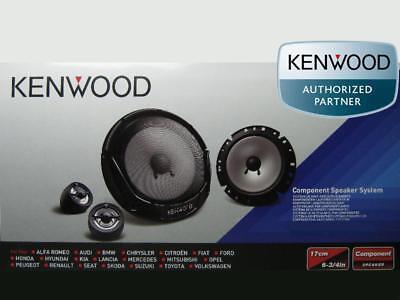KENWOOD Front Lautsprecher-Set Kompo für VW Passat B6 3C 2005-2010
