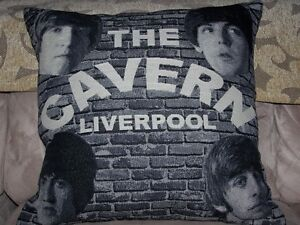 Beatles FAB4 Tapestry Pillow - The Cavern Liverpool - BRAND NEW