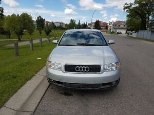 2004 Audi A4 1.8T Sedan - BACK 2 SCHOOL SPECIAL!! LOW KMS!!