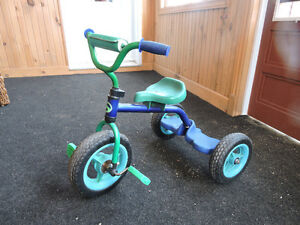 boy's tricycle 2-4 years old.