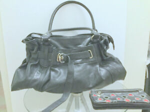 Purse Black Handbag Women's 'ALDO' Design + Free Wallet