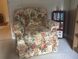 Pair M&S Chelsea style armchairs