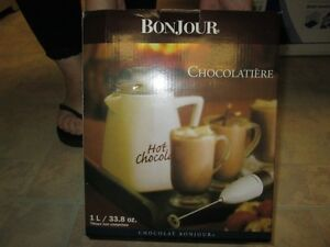 Brand new never used hot chocolate maker