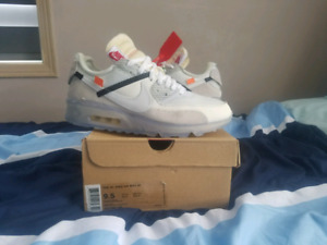 Nike Air Max 90 Off White Size 9.5 Yeezy Supreme Jordan
