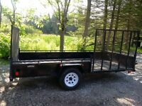2014 Advantage atv/utility trailer