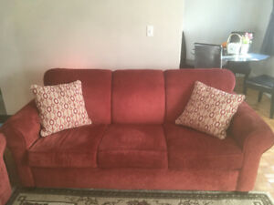 Excellent Condition Sofa & Loveseat