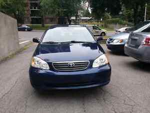 2005 Toyota Corolla Automatic with air conditioner
