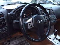 Infiniti FX45 left hand drive
