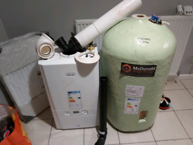 IDEAL BOILER AND HOT WATER TANK