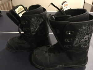 Size 3 snow board boots
