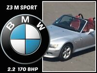 CONVERTIBLE BMW Z3 2.2 SPORTS 170+CITROEN,NISSAN,RENAULT,SKODA,CIVIC,HYUNDAI,SUZUKI,VAUXHALL,FORD,Z3