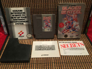 Blades of Steel: Box/Manual/Poster (NES)Hockey.Rare/OOP